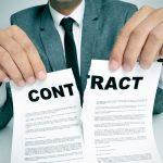 شرایط خاتمه قرارداد کار