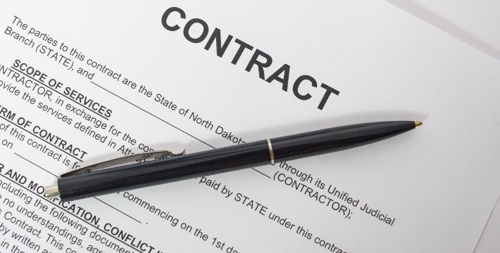 تنظیم امور قرارداد ها